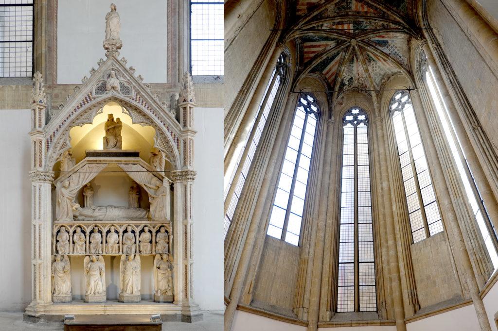 ドンナレジーナ・ヴェッキア教会、ハンガリー王妃マリアの廟墓