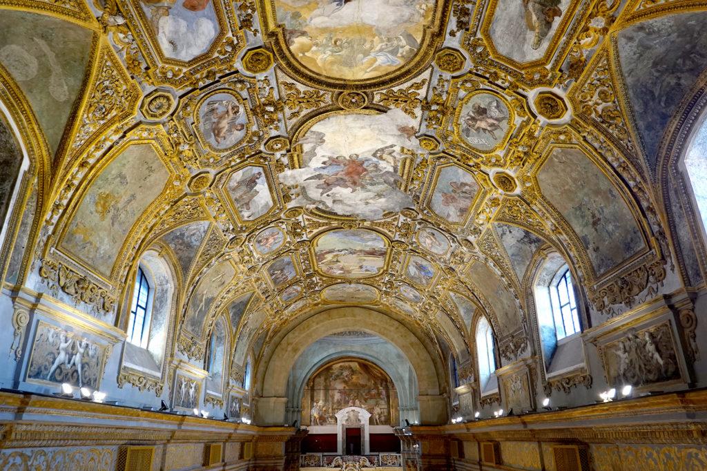 ドンナレジーナ・ヌォーヴァ教会の天井画