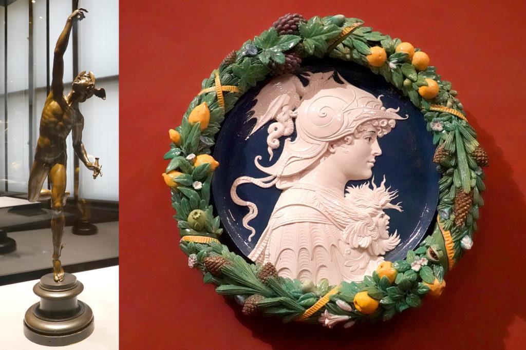 ジャンボローニャ「メルクリウス」とアンドレア・デッラ・ロッビア工房の『スキピオ』・アフリカヌス